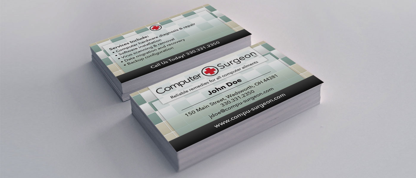 Computer Surgeon - Business Card