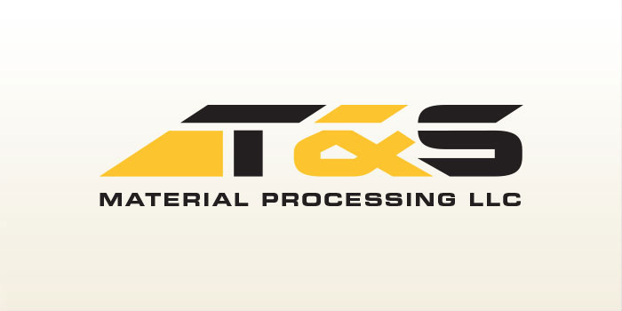T&S Material Processing - Logo