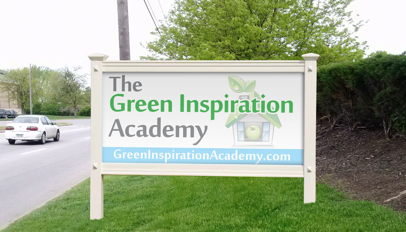Green Inspiration Academy - Signage