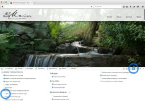 Capture full page screenshots in Mozilla Firefox - Step 2