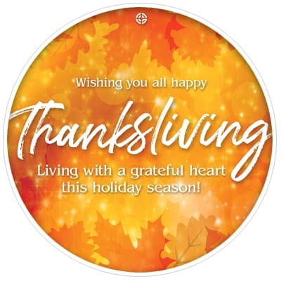 Living with a grateful heart this holiday season!
